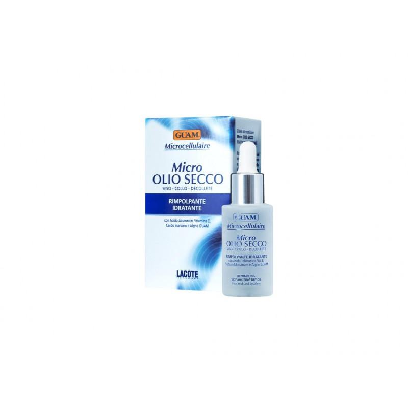 GUAM Microcellulaire Micro Olio Secco 30 ml