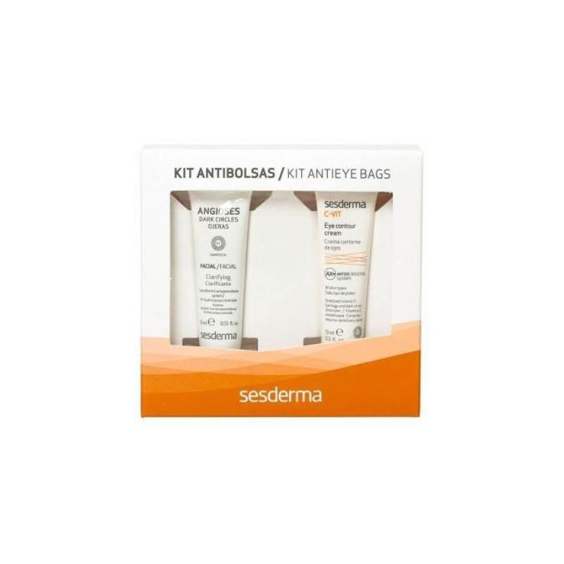 Zestaw Sesderma Angioses 15 ml + C-Vit AX Antiox Booster 15 ml