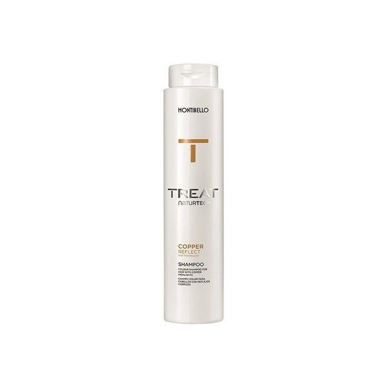 Montibello Treat NaturTech Copper Reflect szampon miedziany 300 ml