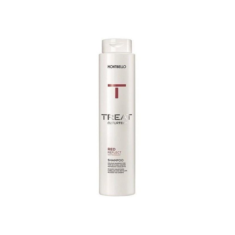 Montibello Treat NaturTech Red Reflect szampon czerwony 300 ml