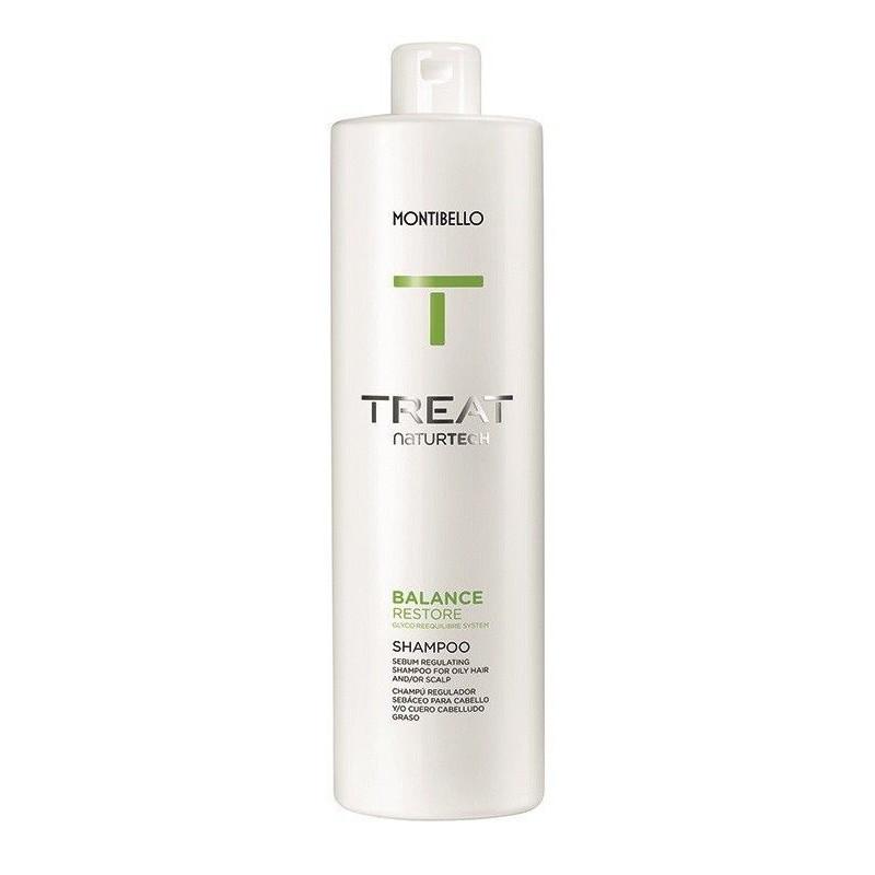 Montibello Balance Restore (przetłuszczone) szampon 1000 ml Treat NaturTech
