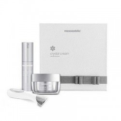 Zestaw Mesoestetic Crystal Cream 50 ml + Eye Cream 15 ml + jonizator