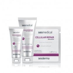 Sesderma Sesmedical Cellular Repair domowa pielęgnacja 30 ml + 15 ml + 4 chusteczki