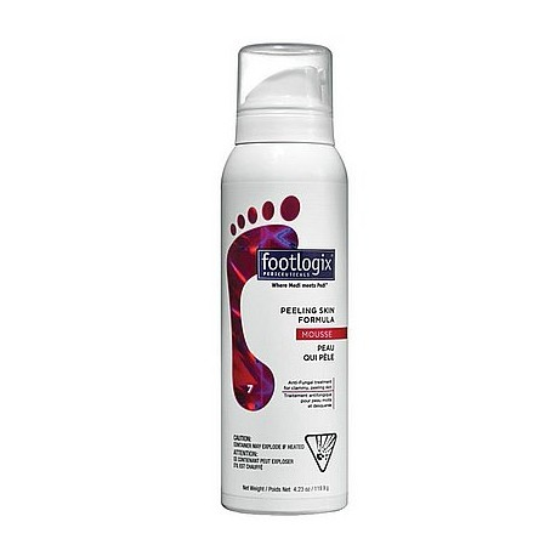 Footlogix Peeling Skin Formula mus 125 ml