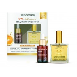 Zestaw Sesderma C-Vit serum 30 ml + Sublime Oil 50 ml
