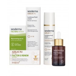 Zestaw Sesderma Azelac RU SPF50 emulsja 50 ml + Factor G Renew serum 30 ml