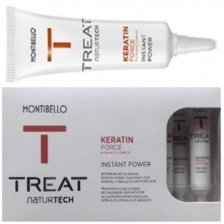 Montibello Treat NaturTech Keratin Force Instant Power ampułki 10 x 12 ml