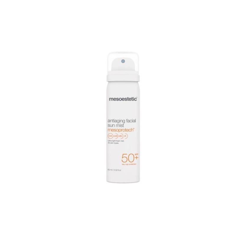 Mesoestetic Mesoprotech SPF50 Antiaging Facial Sun Mist mgiełka 200 ml