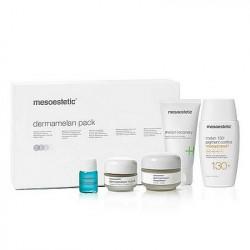 Zestaw Mesoestetic Dermamelan Pack (pięć produktów 110ml + 40g)