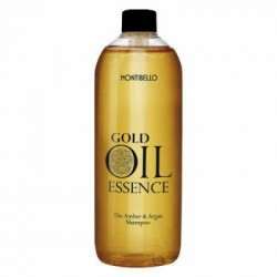 Montibello Gold Oil Essence Amber&Argan szampon 1000 ml