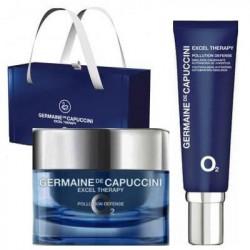 Zestaw Germaine de Capuccini Excel Therapy O2 krem 50ml + krem pod oczy 15ml