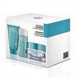Zestaw Germaine de Capuccini Purexpert Oily Skin pianka 30ml + emulsja 50ml + krem 50ml