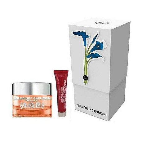 Zestaw Germaine de Capuccini Timexpert C+ (A.G.E.) Cream 50ml + Timexpert Lift (IN) Eye Contour 15ml