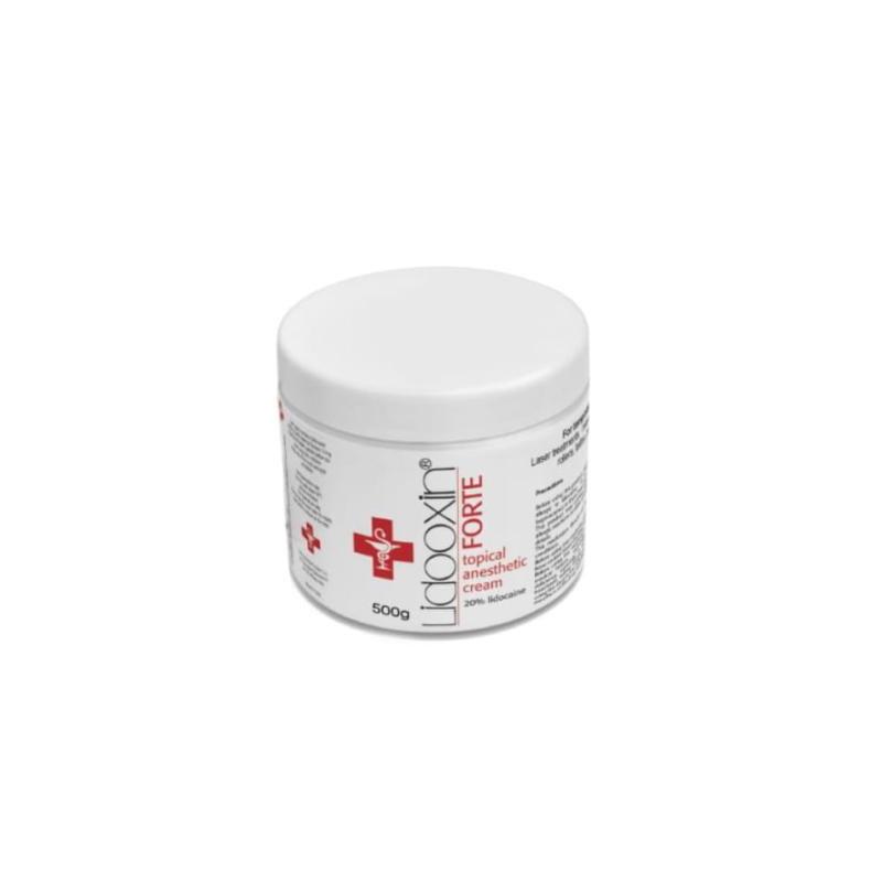 Lidooxin Forte Lidocaine 20% krem znieczulający 500g