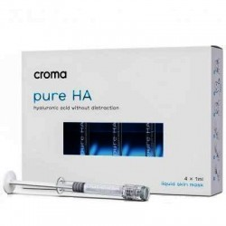 Croma Pure Hyaluronic Acid Mask 4 x 1ml