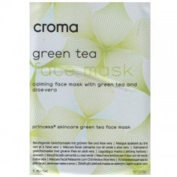 Croma Princess Green Tea Face Mask 28g