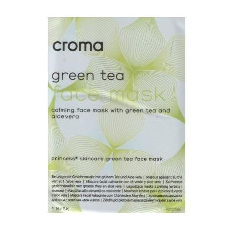 Croma Princess Green Tea Face Mask 28g